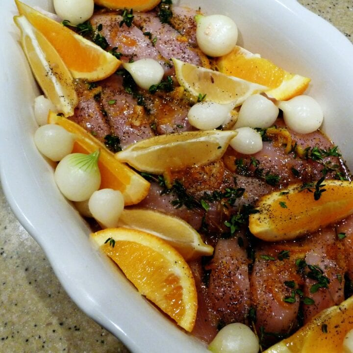 Balsamic Citrus Infused Chicken