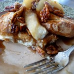 French Toast with Caramelized Pears and Pecans