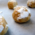 White Chocolate Lemon Cookies with Toasted Coconut