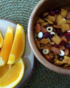 Cranberry-Orange Multi-Grain Snack Mix