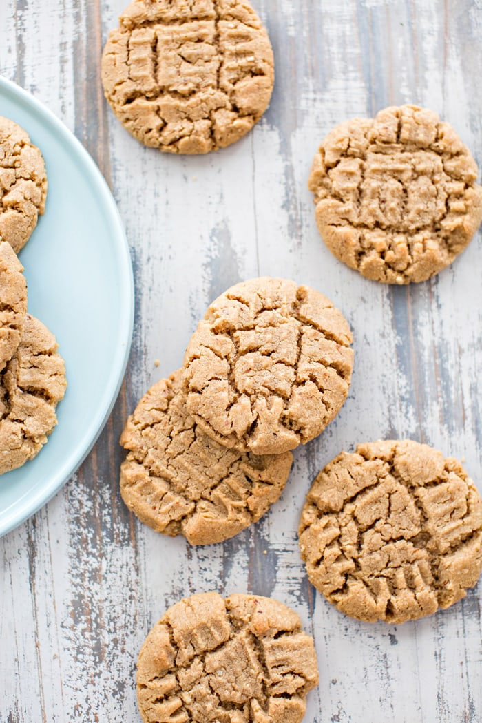 cookies on a plate on a table