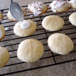 lemon buttermilk cookies with almond