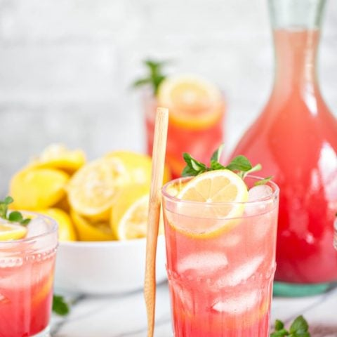 Watermelon Mint Lemonade