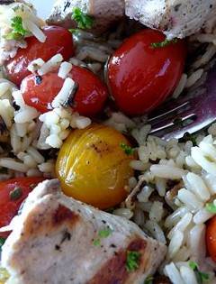 Lemon-Rosemary Chicken Kebabs
