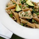 Pasta Primavera with Garden Zucchini and Herbs