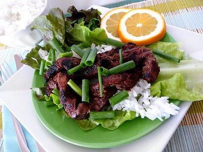 grilled korean bulgogi wraps