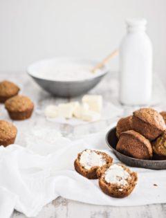 Zucchini Muffin Recipe - Zucchini Apple Spice Muffins