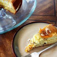 Apricot Almond Breakfast Cake