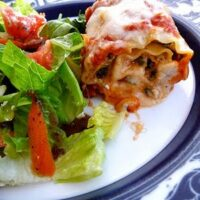 Sundried Tomato and Spinach Lasagna Rolls