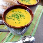 Spiced Butternut Squash Apple Soup