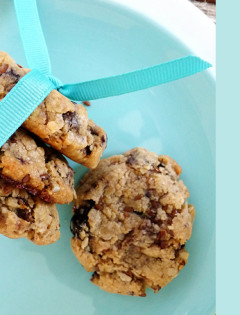 Granola Bar Cookies for After School Snack