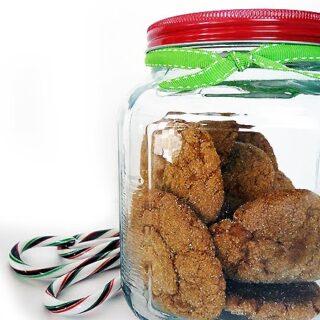 Pumpkin-y Molasses Spice Cookies