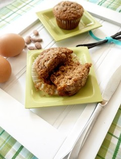 Brown Sugar Pear Muffins