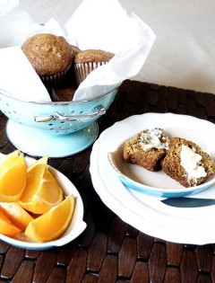Ginger Carrot Muffins