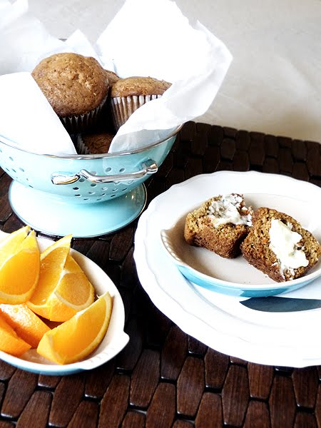 Ginger Carrot Muffins