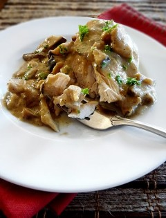 Chicken with Tarragon-Mustard Sauce (Pressure Cooker)