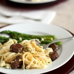 Beef Tenderloin Pasta with Gorgonzola