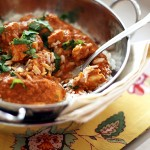 Indian Butter Chicken with Basmati Rice