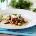 Pressure Cooker Shredded Pork Tacos