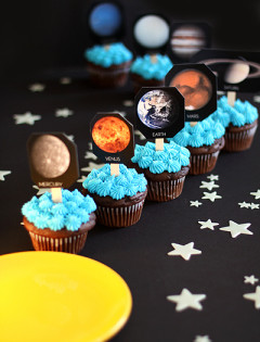 solar system brownie - photo #23
