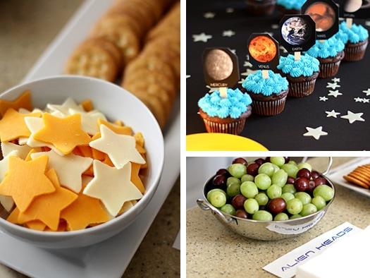 Solar System Birthday Party Snacks