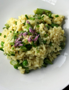 vegetarian spring risotto by danatreat