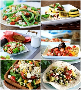 recipes using feta