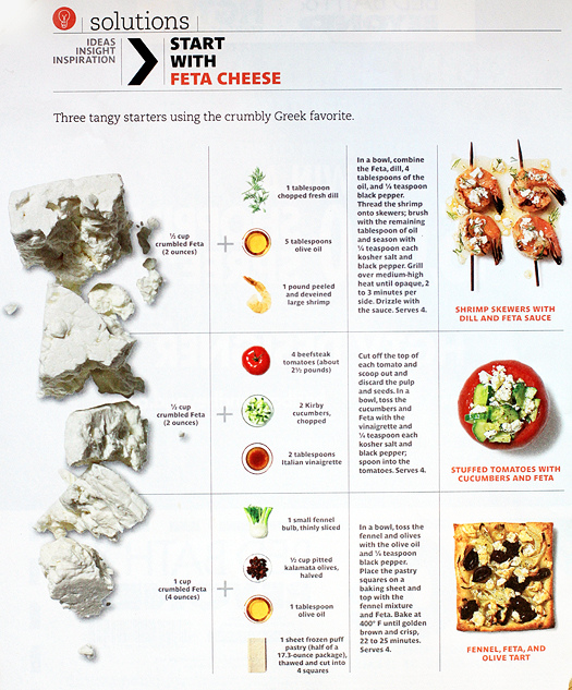 recipes that start with feta