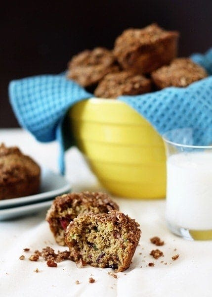 Cherry Zucchini Muffin Recipe