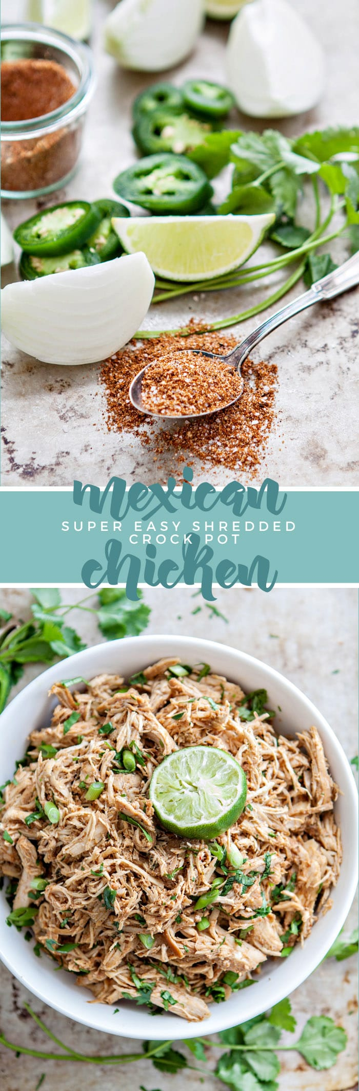 Crock Pot Mexican Chicken image