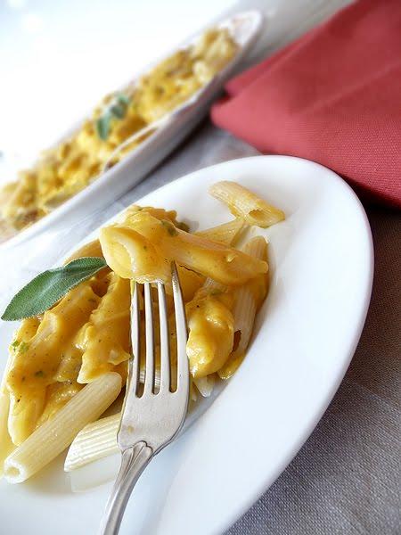 Pasta with Butternut Parmesan Sauce