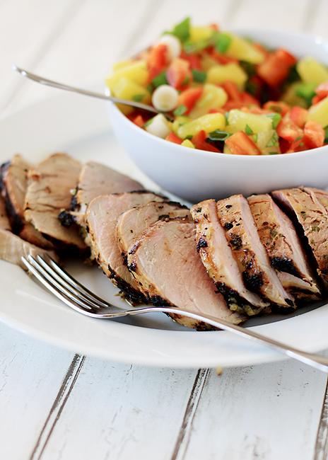 cumin-lime grilled pork tenderloin