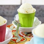 homemade lemon ice cream