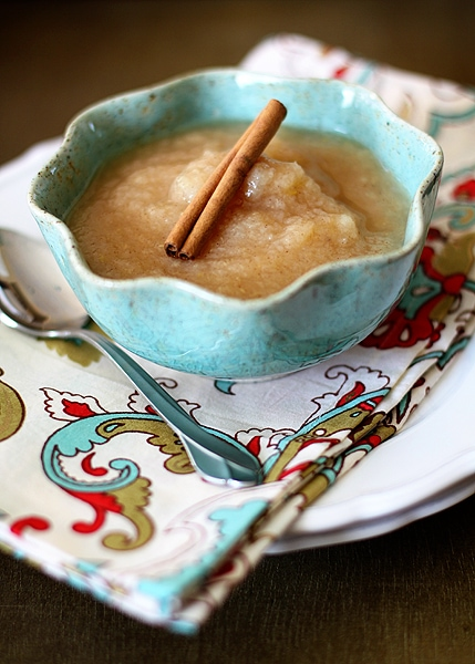 homemade pearsauce or applesauce