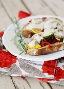 Quick Roasted Vegetable Sandwich