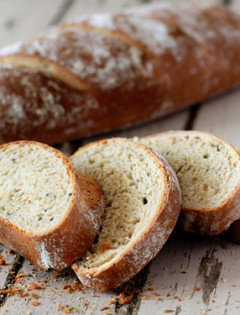 Rustic Garlic Rosemary Bread