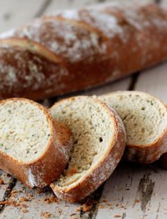 Rustic Garlic Rosemary Bread