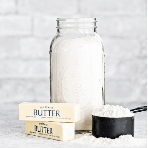 How To Cut Butter into Flour