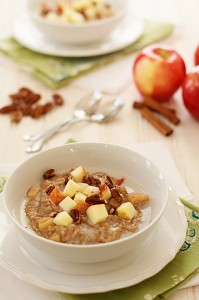 Apple Pie Steel Cut Oats