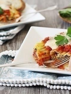 Vegetable Manicotti
