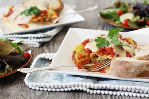 Vegetable Manicotti