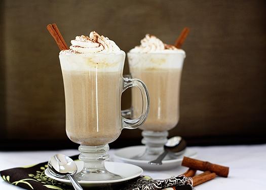 Pumpkin White Hot Chocolate | Good Life Eats