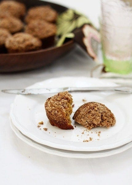 Pumpkin Muffins with Maple Syrup