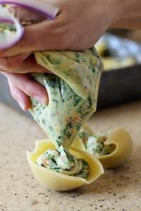 how to make stuffed shells