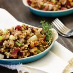 bacon cranberry stuffing