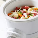 Making Beef Stew in Crock Pot