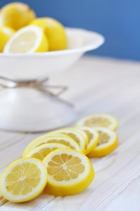 natural cleaning with lemons