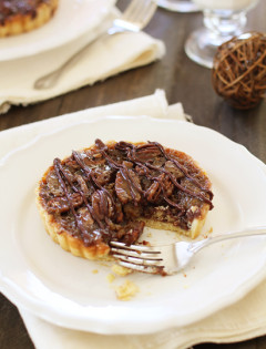 Chocolate Pecan Tarts