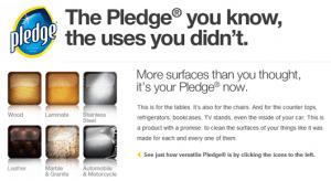 pledge giveaway