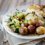 citrus rosemary roast chicken